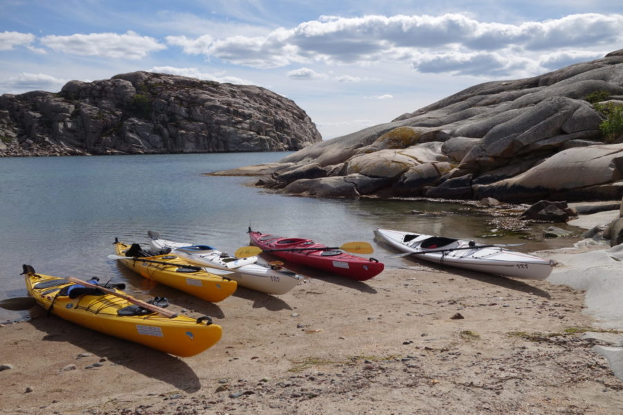 Sandy beach Kayak Bohuslän