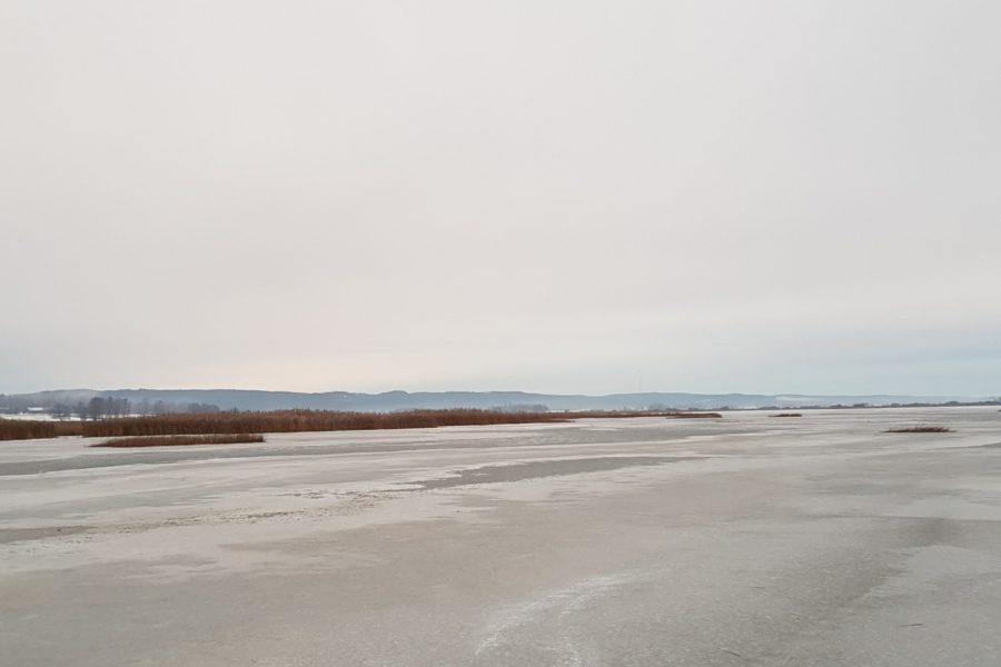Tysslingen, Kilsbergen, ice