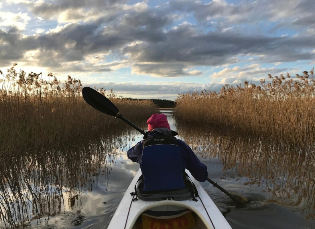 Waterland Sweden - In Water and on Ice - Kayaking and Skating -