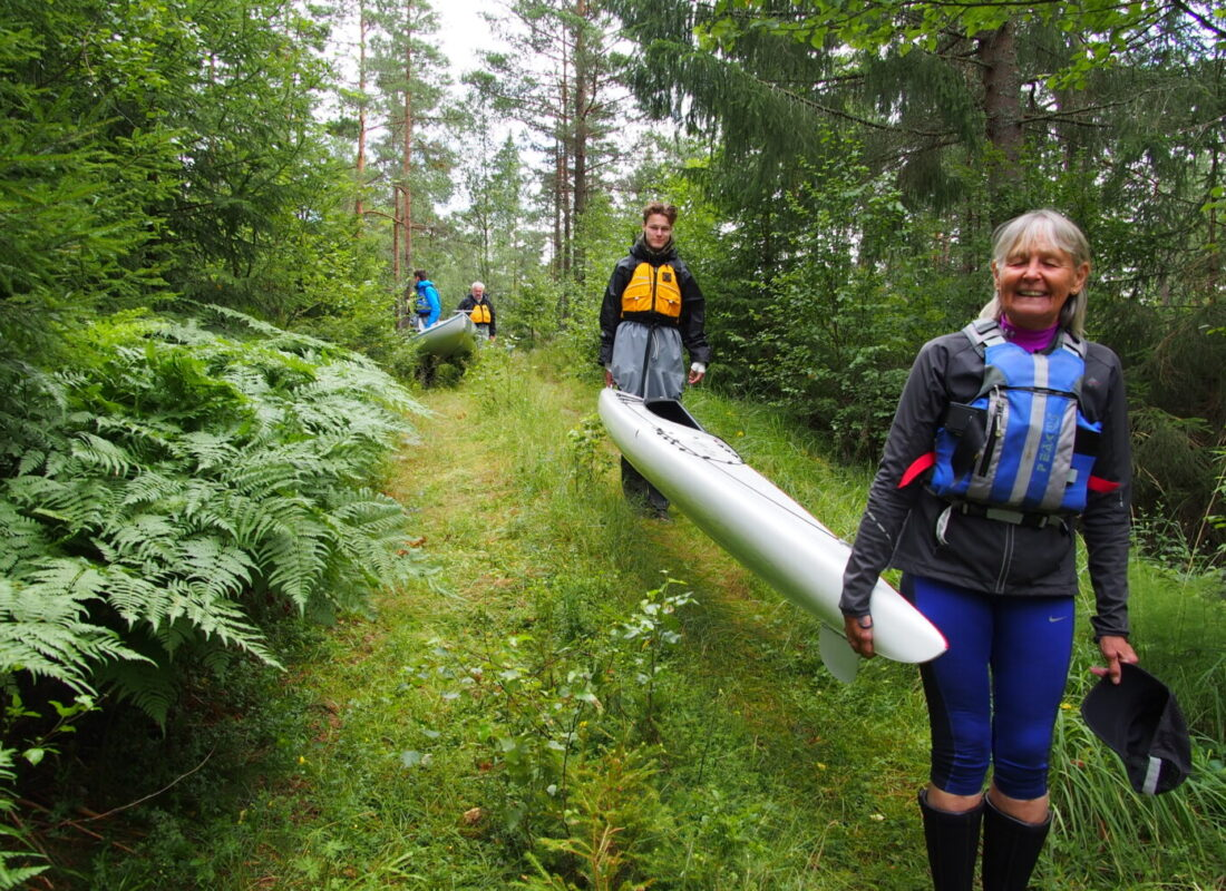 Wonderful kayaking experience in wilderness