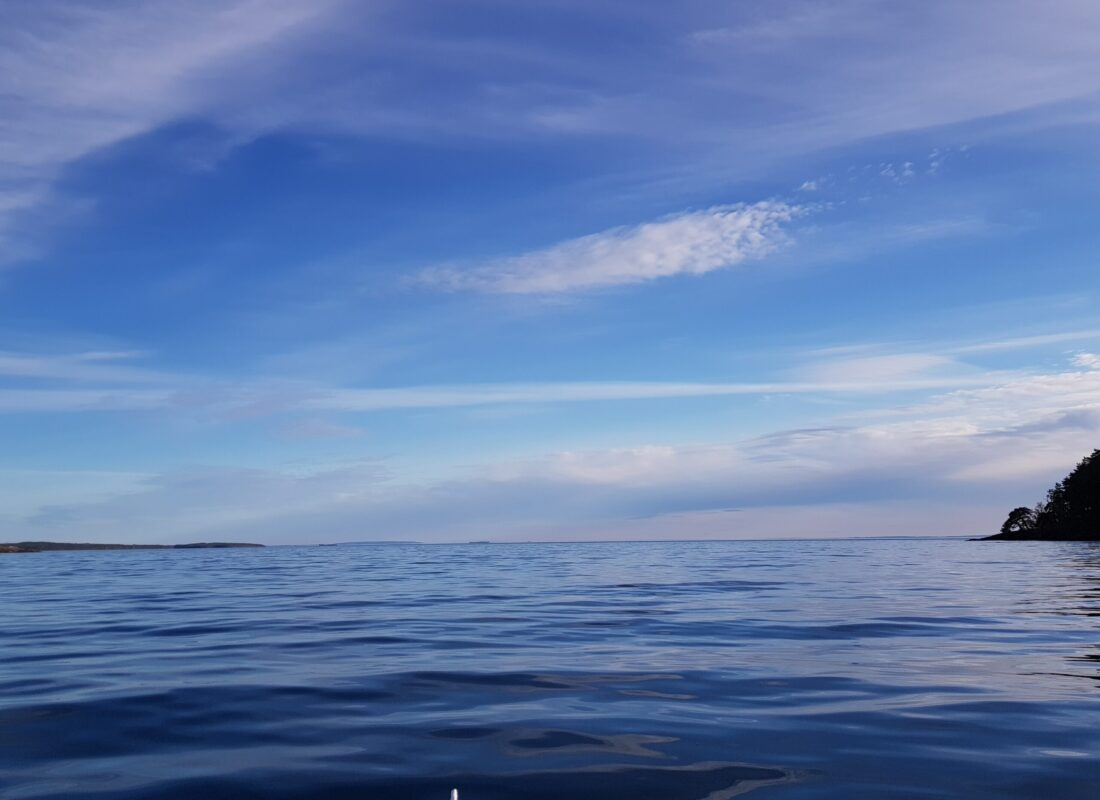 Lake Vättern Horizon, Sweden